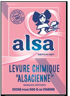 Alsa Produit Levure Chimique Alsacienne