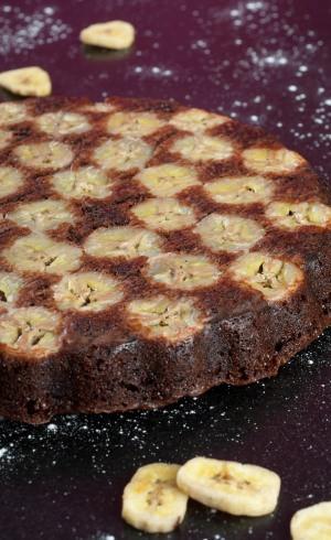Gâteau Moelleux Choco-Banane