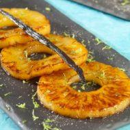 Alsa Recette Ananas chaud à la Vanille