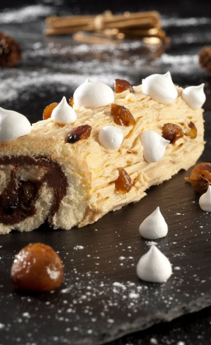 Buche Choco-Marrons