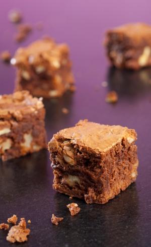 brownie chocolat noix alsa pour tous tous pour alsa. Black Bedroom Furniture Sets. Home Design Ideas