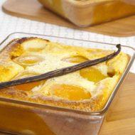 Alsa Recette Clafoutis aux abricots vanille