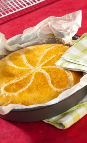 Gateau basque du pâtissier