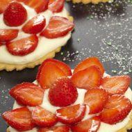 Alsa Recette Tarte aux fraises