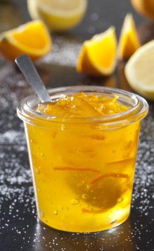 Gelée d'orange et de citron