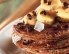 Alsa Recette Pancakes Chocolat Banane et Noix de Coco