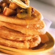 Alsa Recette Pancakes et Compotée de fruits