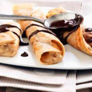 Alsa Recette Petits paquets à la crème de marron et au chocolat