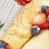 Alsa Recette Roules au fromage blanc et fruits rouges