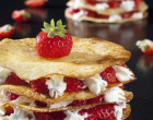 Alsa Recette Mille-Crêpes aux fraises et chantilly
