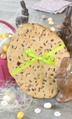 Cookie géant de Pâques