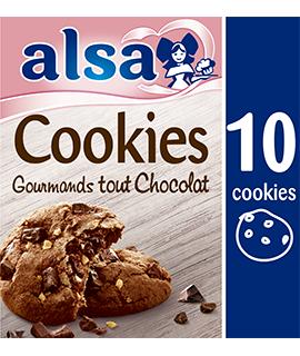 Cookies Gourmands Tout Chocolat