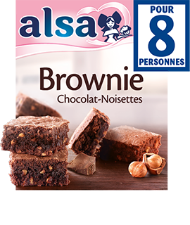 Brownie Chocolat-Noisettes