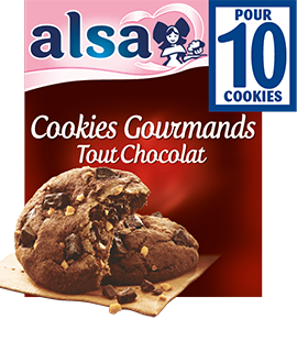 Cookies Gourmands Tout Chocolat