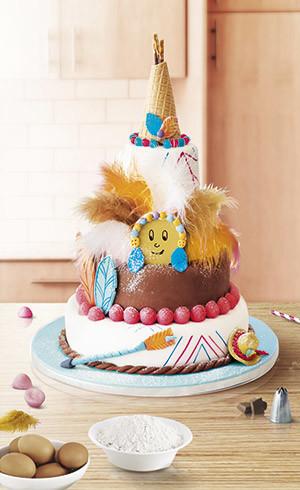 Le gâteau Tipi