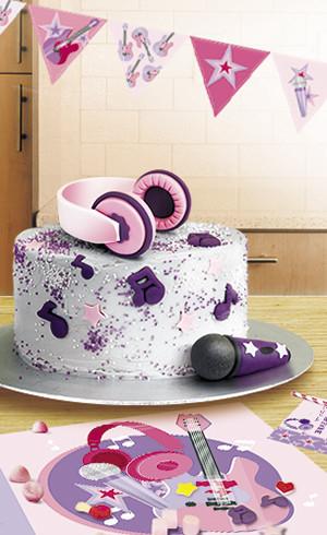 Le gâteau Musique