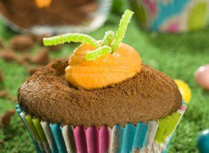 Alsa Recette Cupcakes carotte de Paques