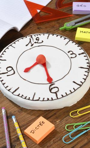 Gâteau Horloge
