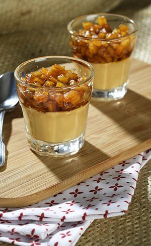 Verrine pommes-caramel