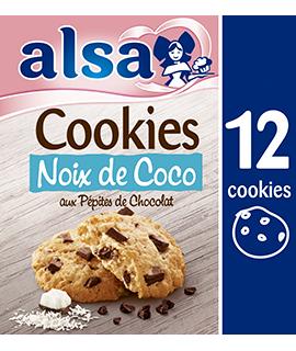 Cookies Noix de Coco & Pépites de Chocolat